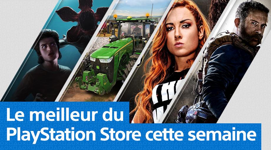 PlayStation Store - Mise à jour du 21 octobre 2019