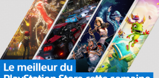 PlayStation Store - Mise à jour du 7 octobre 2019