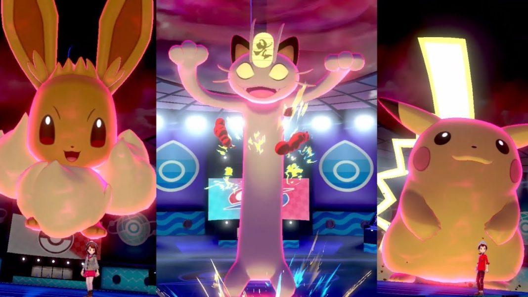 Pokémon Gigamax Pokémon Épée et Pokémon Bouclier