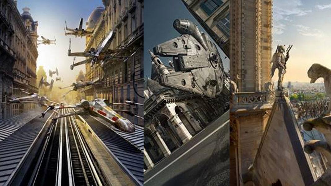 Star Wars L'avenue-des-Etoiles