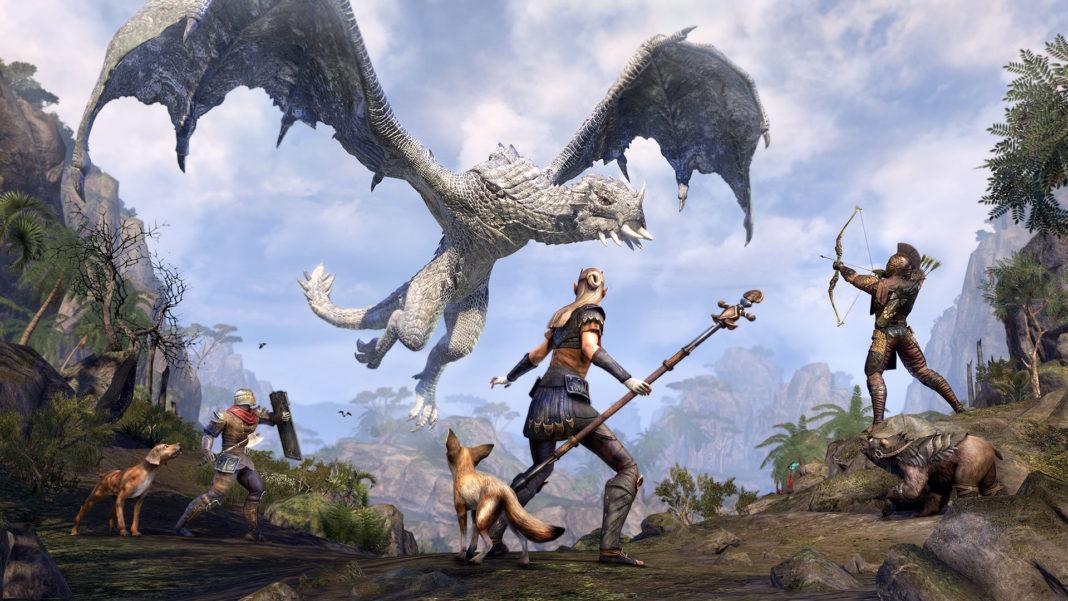 The-Elder-Scrolls-Online-SlayDragonsSaveCats-_Charity_Event_Dragons