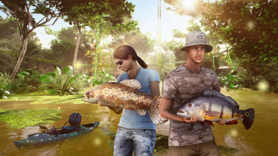 Fishing Sim World Pro Tour Laguna Iquitos KeyArt