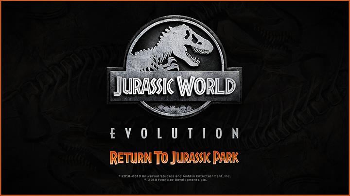 Jurassic World Evolution - Retour à Jurassic Park