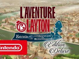L'AVENTURE LAYTON - Katrielle et la conspiration des millionnaires - Édition Deluxe