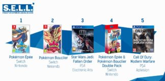 TOP Ventes Jeux Video sem 46 2019