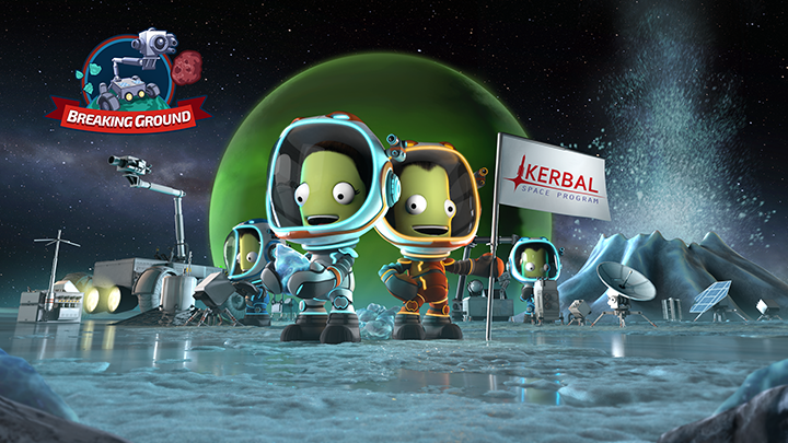 Kerbal Space Program Enhanced Edition- Breaking Ground Expansion