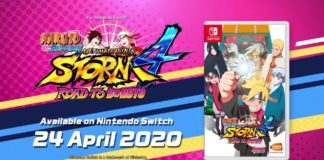 Naruto Shippuden: Ultimate Ninja STORM 4 ROAD TO BORUTO Switch