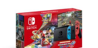 Nintendo Switch Mario Kart 8 Packshot Bundle 2019
