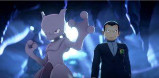 Pokémon Masters Giovanni & Mewtwo