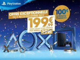 Promotions Noël 2019 PlayStation