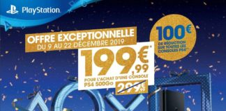 Promotions Noël 2019 PlayStation