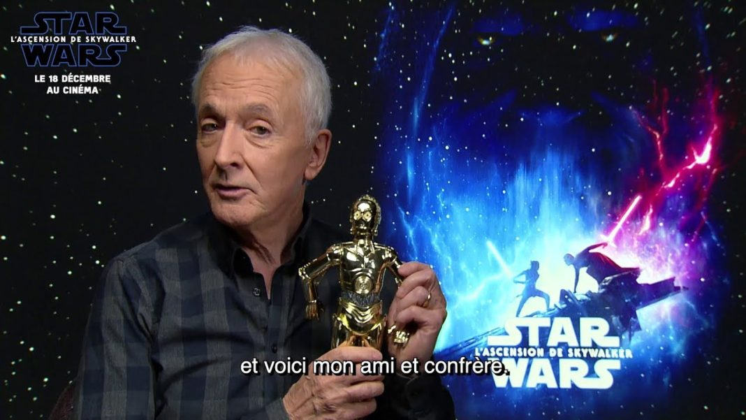 Star Wars - L'Ascension de Skywalker - Anthony Daniels