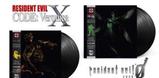 Vinyles Resident Evil Zero et CODE- Veronica X