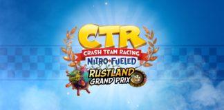 Crash Team Racing Nitro-Fueled - Grand Prix de la Rouille