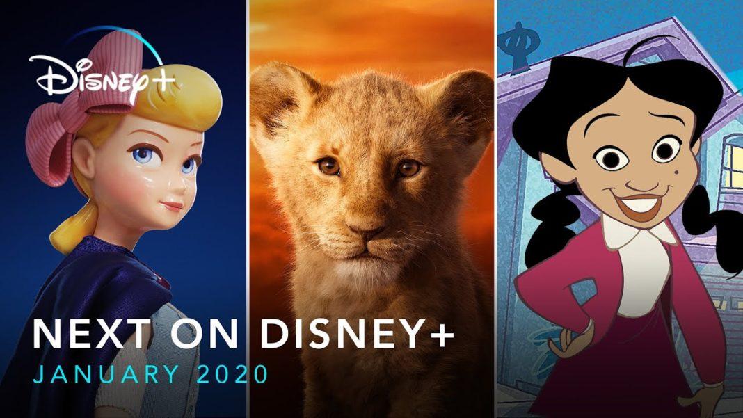 Disney Plus Janvier 2020