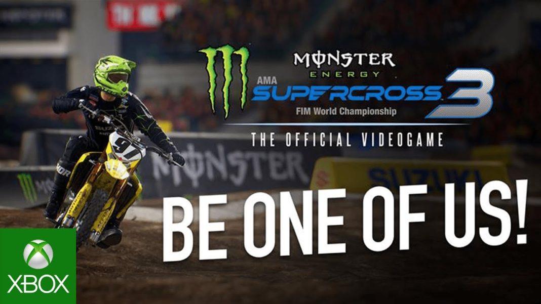 Monster Energy Supercross - The Official Videogame 3   7deucedeuce Adam Enticknap - Be One of Us