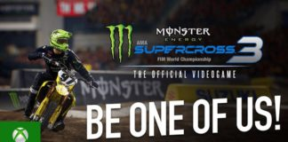 Monster Energy Supercross - The Official Videogame 3 | 7deucedeuce Adam Enticknap - Be One of Us