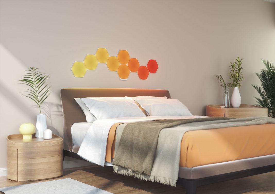 Nanoleaf-ULP-Hex_9x_Bedroom_White_4000x2800