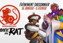 Overwatch Le nouvel an lunaire 2020