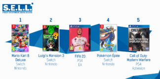TOP Ventes Jeux Video sem 52 2019
