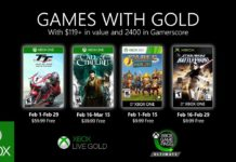 Xbox Live Games With Gold February 2020 Février 2020