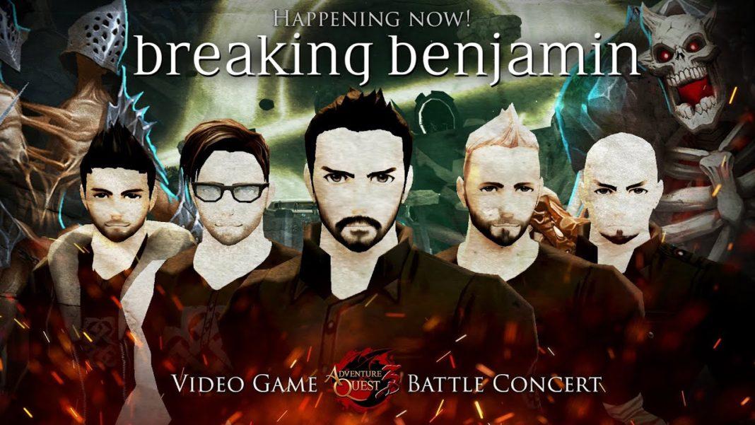 AdventureQuest 3D & AQWorlds Breaking Benjamin 01