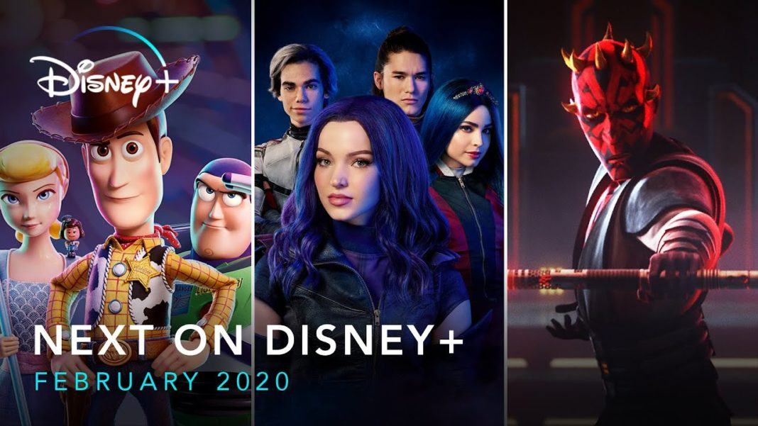 Disney Plus Février 2020 February 2020 Disney+