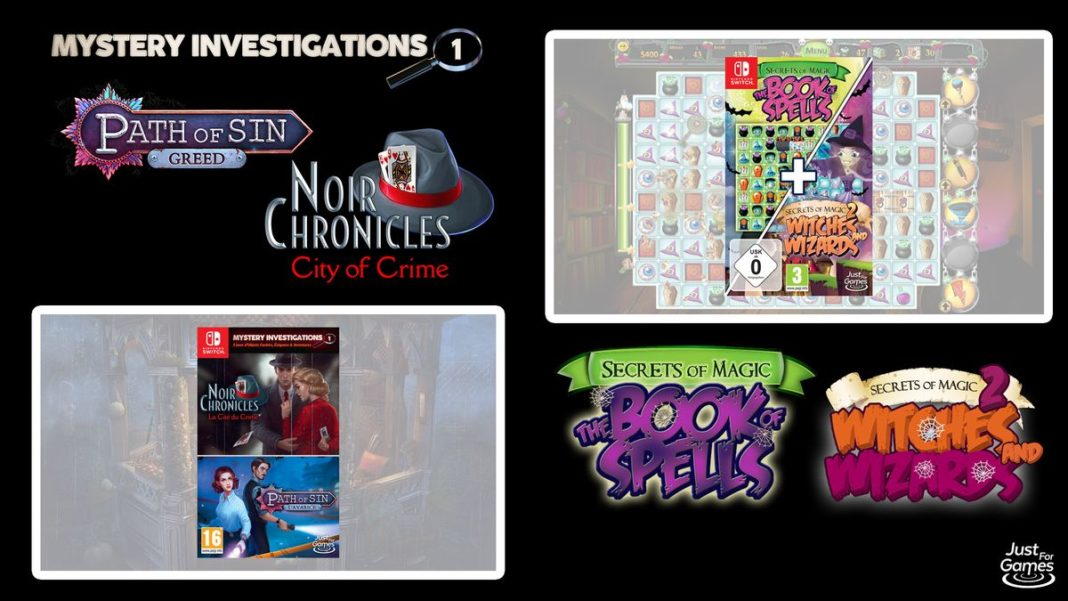 Mystery Investigations 1 et Secret Of Magic 1+2