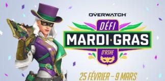 Overwatch Défi Mardi Gras D'Ashe