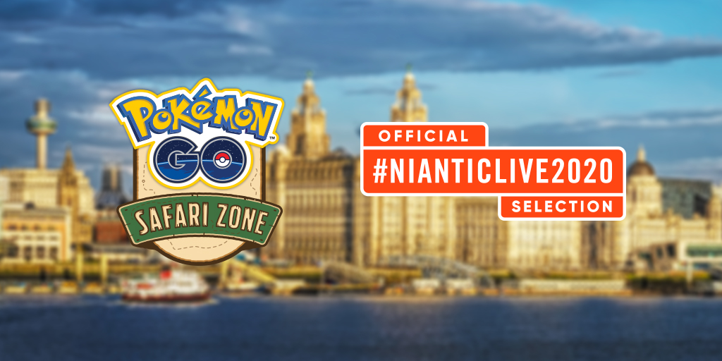 Pokémon GO Safari Zone Liverpool-City