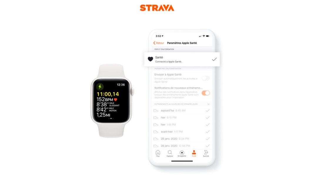 Strava x Apple HealthKit_FR