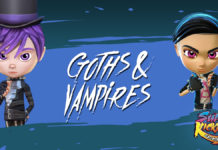 Super Kickers League - Goths & Vampires