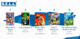 TOP Ventes Jeux Video sem 7 2020