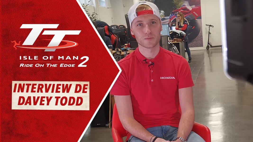 TT Isle of Man 2 - Davey Todd
