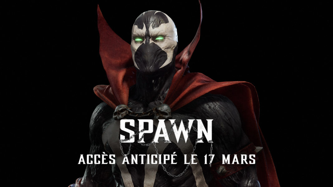 Mortal Kombat 11 SPAWN Card_FR