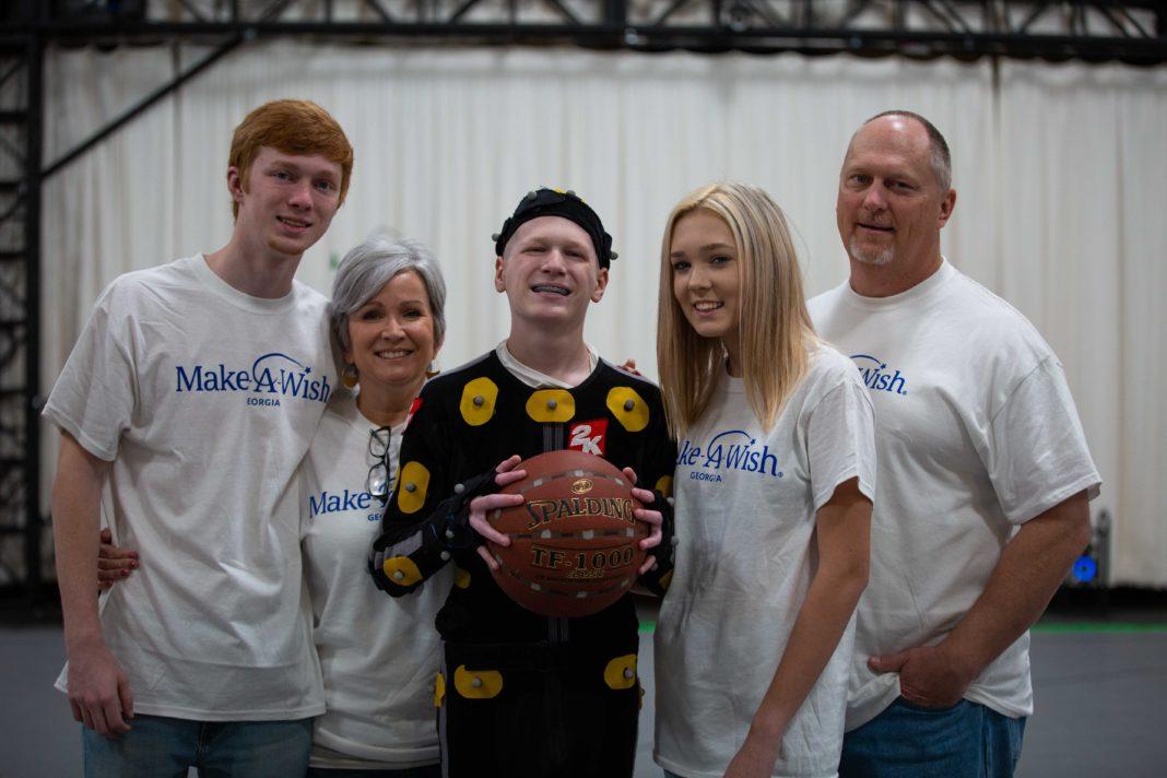 NBA 2K20 - Make-A-Wish and NBA 2K - Family at Mocap