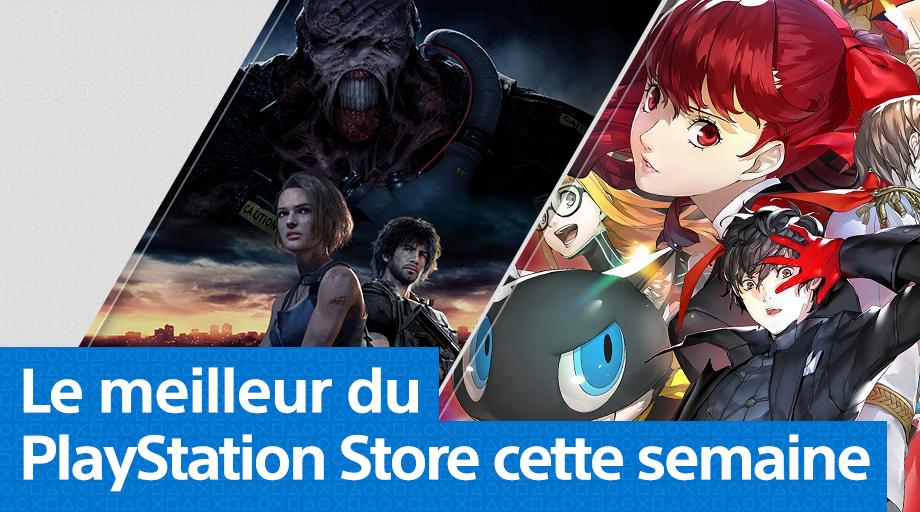 PlayStation Store - Mise à jour du 30 mars 2020