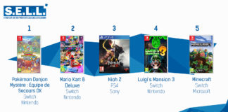 TOP Ventes Jeux Video sem 11 2020