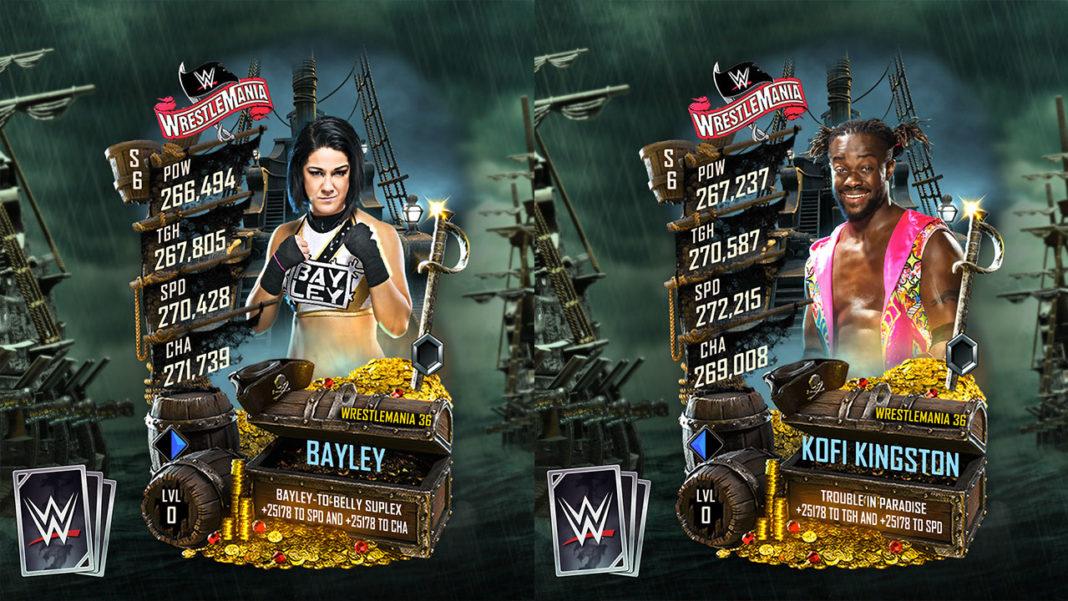 WWE SuperCard WM 36