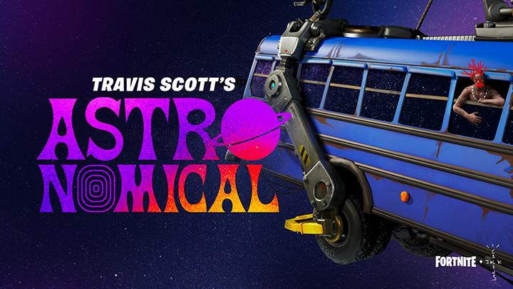 Fortnite X Travis Scott - Astronomical 01