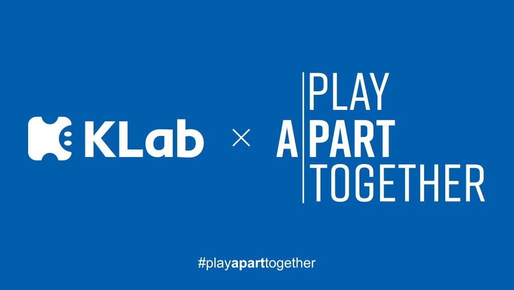 KLab #PlayApartTogether