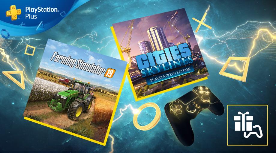 PlayStation Plus - Jeux de mai 2020