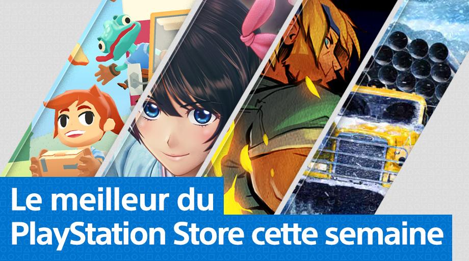 PlayStation Store - Mise à jour du PS Store du 27 avril 2020