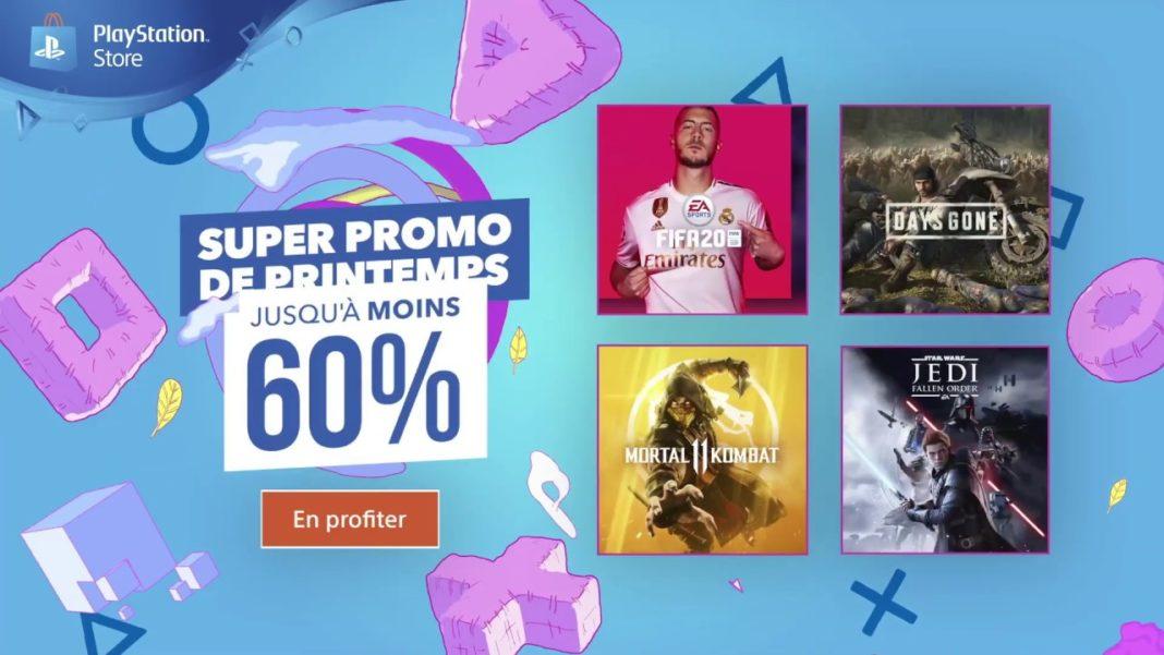 PlayStation Store Super Promo de Printemps 2020