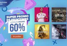 PlayStation Store Super Promo de Printemps 2020