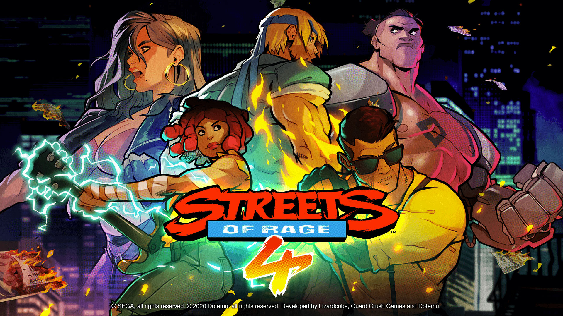 TEST] Streets of Rage 4 : le Beat them all fait peau neuve à la ...