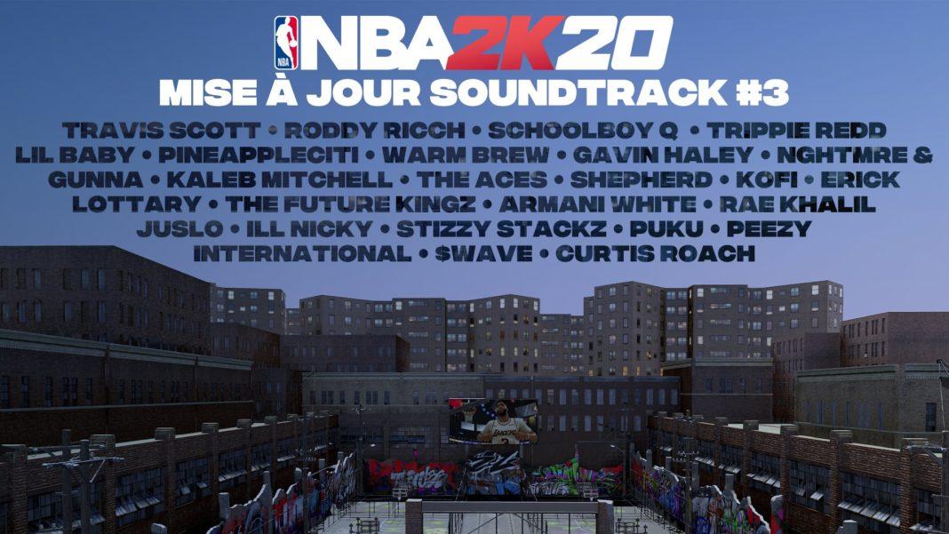 2K - NBA2K20_Troisième mise à jour de la bande son