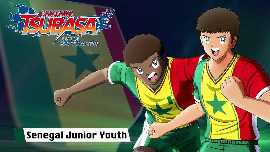 Captain Tsubasa: Rise of New Champions - Senegal Junior Youth
