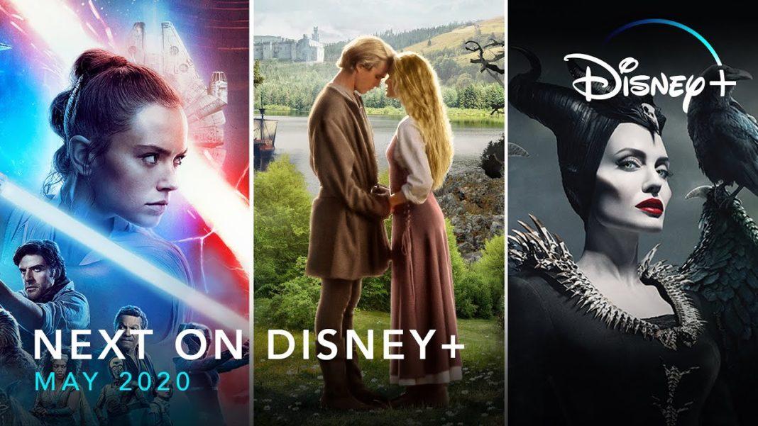 Disney+ Disney Plus May 2020 US