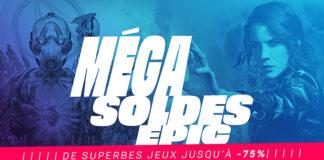 Epic Games Méga Soldes_MegaSale2020